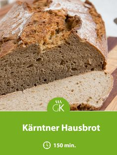 Bread recipes come in all variations, but the Kärtner house bread is not only healthy, it also taste Bread Recipes, Cooking Recipes, Thermomix Desserts, Bread Rolls, Pampered Chef, Cake Cookies, Banana Bread, Brunch, Food And Drink