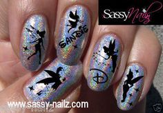 Personalized disney nail art transfer wraps by SassyNailzIreland, $7.99