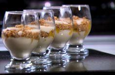 Pavê de Pêssego é alternativa de doce sem glúten e sem lactose