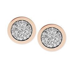 Find More Stud Earrings Information about Rose Gold Tone Pave Slice Stud Earrings Crystal Stud Earrings Brincos pendiente Free Shipping,High Quality Stud Earrings from MM Vogue Jewelry Shop. on Aliexpress.com