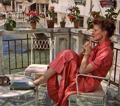 "Katharine Hepburn en ""Locuras de verano"", 1955"