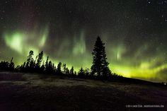 Northern Lights at MacKenzie Point by Jakub Sisak Photography. Thunder Bay, Ontario Canada
