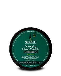 Super Greens Detoxifying Facial Masque
