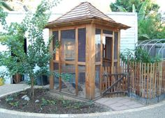 california chicken coop with plans