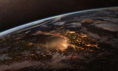 City Lights by hipydeus, via Flickr