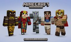 playxbla.com » Battle  Beasts Skin Pack for Minecraft: Xbox 360 ...