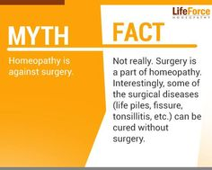 Lots of myths are associated with Homeopathy, which are not true. Dr Rajesh Shah has debunked few myths about Homeopathy, read more on Homeopathy myths and facts Homeopathic Medicine, Homeopathy, Surgery, The Cure, Remedies, Medical, Facts, Reading, Quotes