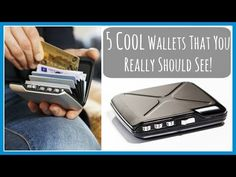 5 Cool Wallets That You Really Should See New Inventions And Gadgets 2016 Minds