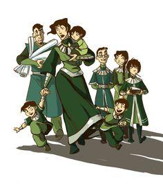 The Legend of Korra :) Avatar Airbender, Avatar Aang, Avatar Legend Of Aang, Team Avatar, Legend Of Korra, Avatar Cartoon, Avatar Funny, Suyin Beifong, Suki And Sokka