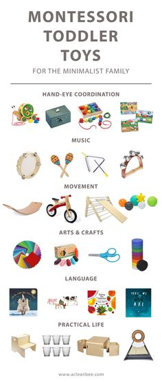 Montessori Toddler Toys – minimalist toddler toys that are beautiful, practical, and encourage toddler learning and growth. Maria Montessori, a Woman Ahead of Her Time Montessori Playroom, Montessori Activities, Infant Activities, Montessori Baby Toys, Best Toddler Gifts, Best Toddler Toys, Best Baby Toys, Best Gifts For Toddlers, Diy Toddler Toy