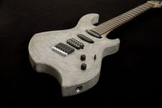 concrete guitar by Zeal guitars