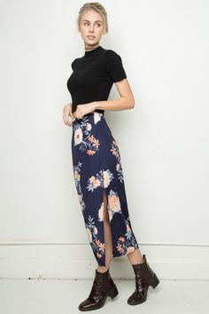 Brandy ♥ Melville | Patricia Silky Skirt - Bottoms - Clothing