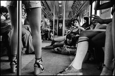 Susan Meiselas Pebbles, JoJo and Carol on the A train. New York City, USA. 1978