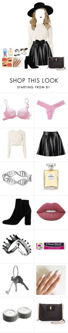"""""""a special persons house~🌸"""" by em-kpop ❤ liked on Polyvore featuring Victoria's Secret, A.L.C., Boohoo, Chanel, MANGO, Lime Crime, Chapstick, Givenchy, Ted Baker and roleplay"""
