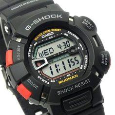 Casio G Shock Mudman, Military Women, Sport Watches, Digital Watch, Casio Watch, Citizen, Sports, Digital Clocks, Board