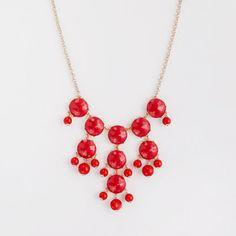 JCrew Factory resin droplet necklace $68