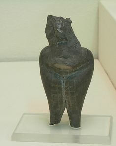 Neolithic Mother Goddess Figurine Museum of Anatolian Civilization   by brewbooks