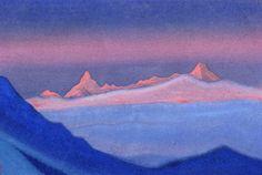 Tangla, 1943 de Nicholas Roerich (1874-1947, Russia)