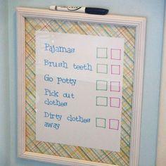 Kid Chore Chart Ideas