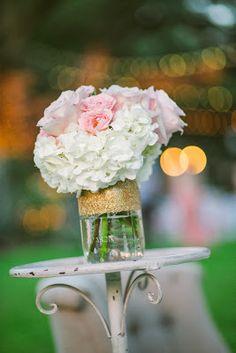 Kaitlin Leigh gold glitter mason jars diy gold mason jar diy wedding outdoor wedding