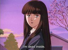 estoy muerto por dentro.