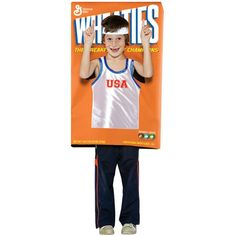 Child Wheaties Cereal Costume