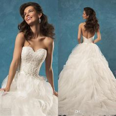 Winter Mermaid Wedding Dress1030