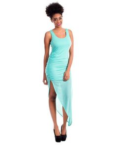 WHOLESALE RUCHED SIDE MAXI DRESS           | $9.00