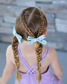 Kids Braided Hairstyles, Little Girl Hairstyles, Cute Hairstyles, Hairdos, Girl Hair Dos, Grow Long Hair, Braids For Kids, Toddler Hair, Fall Hair