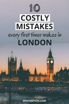 Do you wan to visit London on a budget? Avoid these silly mistakes first timers make. Use these tips to help you see all the top attractions in London on a budget, such as the Tower of London and Buckingham Palace Cool Places To Visit, Places To Travel, Places To Go, Buckingham Palace, Top Attractions In London, London Restaurants, London Photography, Scenic Photography, Night Photography