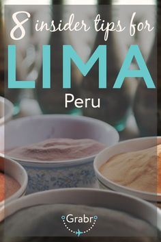 Travel like a local in Lima, Peru with these 8 insider tips for planning the perfect trip to Lima. Read more at Grabr.io