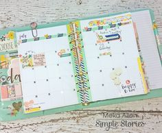Carpe Diem Posh Planner from creative team member Meka Allen
