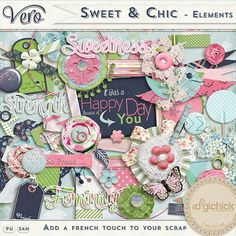 Sweet and Chic [Elements Pack]