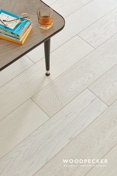 Salcombe Chalked Oak flooring captures the chic charm of a rustic beach-house. Get a free sample at our website.