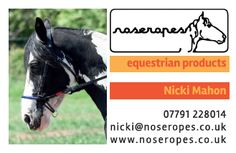 Wild ideas and client letterhead design for tail end jewellery front of business card for noseropes equestrian products reheart Gallery