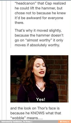 Avengers Age of Ultron. I AGREE WITH THIS!