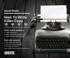 How To Write Killer Copy For Social Media (which gets people to click and convert) https://blog.shareaholic.com/social-media-marketing-copy/