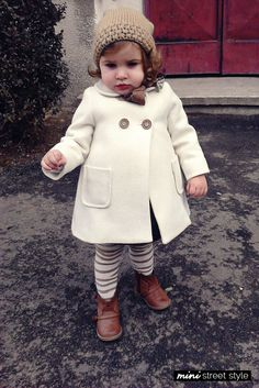 16 Sartorially Sophisticated Children--Hipsters in training.