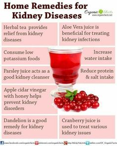 Home remedies for kidney disease include reducing amount of salt in your diet eating less potassium lowering amount of protein intake as well as dandelion parsley juice aloe vera juice cranberry juice apple cider vinegar herbal tea buchu and barberry. Natural Health Remedies, Home Remedies, Herbal Remedies, Food For Kidney Health, Kidney Foods, Kidney Detox Cleanse, Natural Kidney Cleanse, Liver Cleanse, Aloe Vera