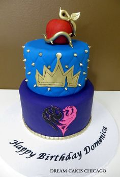Descendant Cake by Dream Cakes Chicago