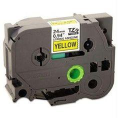 Brother International Corporat Brother Tzes651 Label Tape - 1 Width Polyethylene - Thermal Transfe