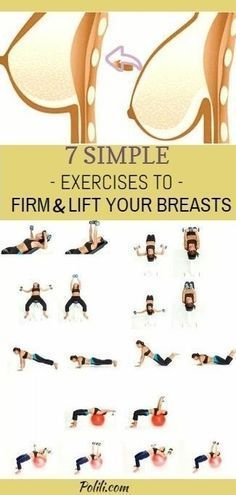 Simple exercises to firm and lift your breasts