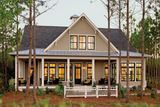 Inspired by historic seaside architecture, this 2007 Idea Home combines the comfort of a vacation home with thoughtful features that make ev...
