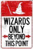 No Muggles allowed.