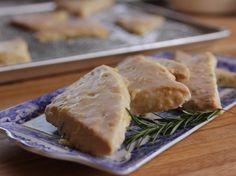 Lemon-Rosemary Scones recipe from Ree Drummond via Food Network