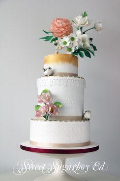 Art Nouveau Cake 8 August 2014