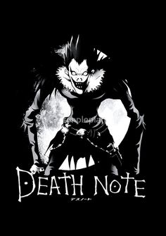 Boredom of DeathNote is Available as T-Shirts & Hoodies, Stickers, iPhone…