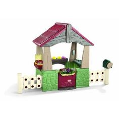 """Little Tikes Home and Garden Playhouse...great gender neutral play, plant flowers, play house and """"fix it up"""" handyman"""