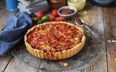 Tomaten, Tarte, Sommer, Summer, Tomato Tart, Tomatentarte, Herzhaft, Dinner, Food, Sommerrezepte, Tomatenrezepte
