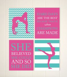 Teen Girl Wall Art sports room decor, teen girls room art, teen girl gift, girls